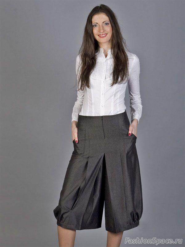 Darissa Fashion - в нашем магазине можно купить брюки, юбки и другую женскую. Узнай подробности. Юбка-брюки BSK из